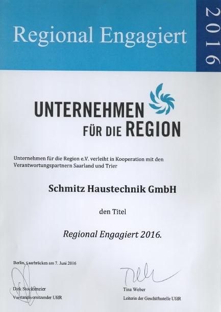 Unternehmen für die Region