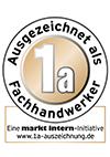 1a Ausgezeichneter Fachhandwerker - markt intern