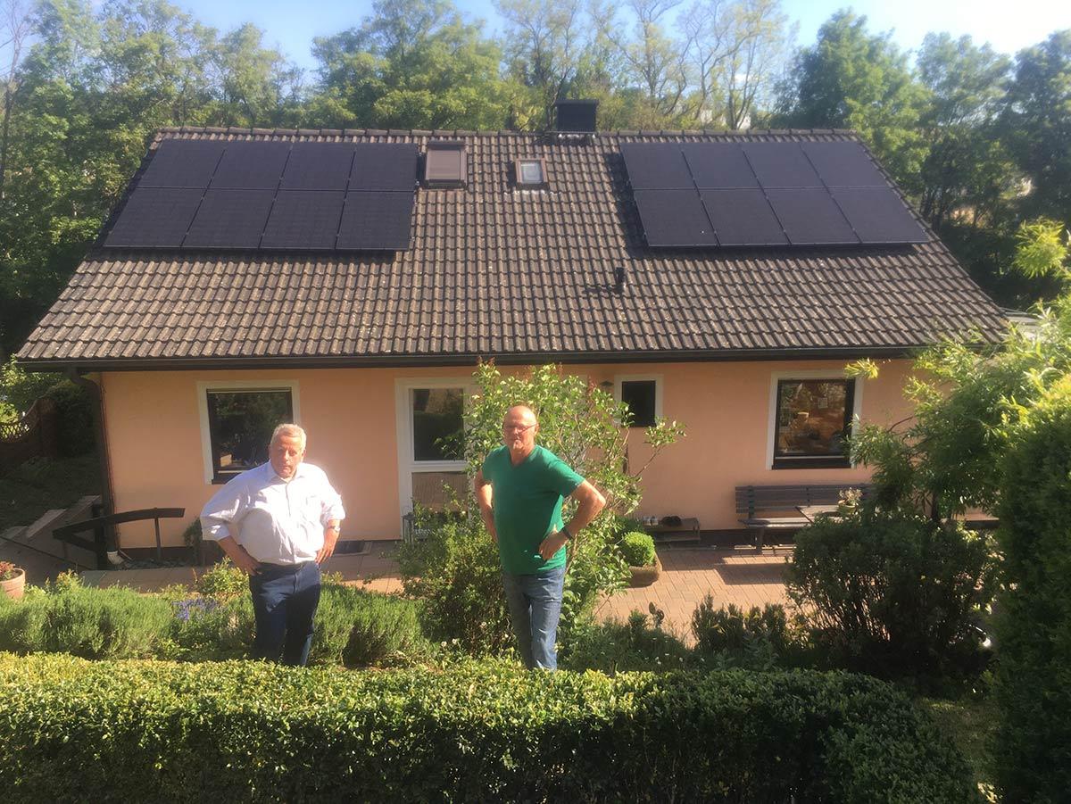 1000. Photovoltaik Anlage in Betrieb genommen